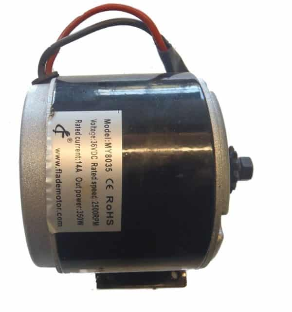 SCOOTER MOTOR BRUSHED 36VOLT 350WATT MY8035-0
