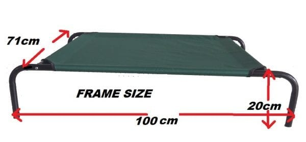 TRAMPOLINE DOG BED MEDIUM -180