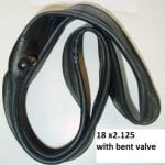 Tube 18 x 2.125 Bent Valve-0