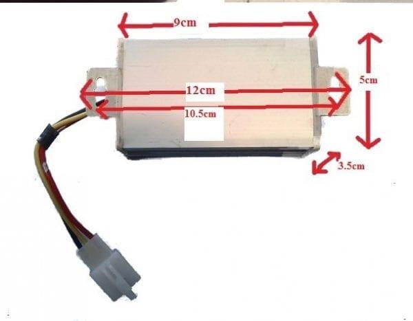 Voltage Reducer 36/48v-580