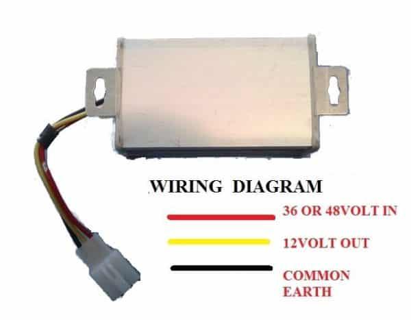 Voltage Reducer 36/48v-578