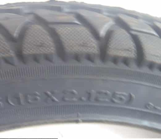 BICYCLE TYRE 16 X 2.125 in-280
