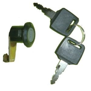 LOCK SET REAR BIN SORRENTO SERIES II TO V-0