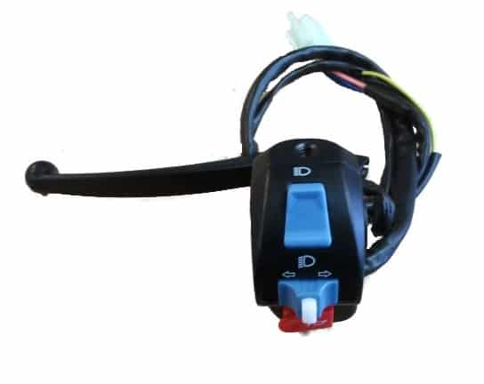 BRAKE LEVER AND SWITCH ASSY LEFT HAND COLT series IV ELECTRIC BIKE-609
