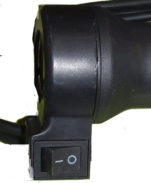 THROTTLE HANDLE WITH SINGLE SWITCH-653