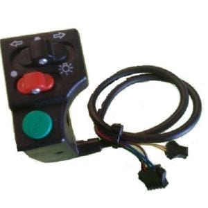 SWITCH COMBINATION INDICATOR , HEALAMP AND HORN FOR ELECTRIC BICYCLES AND ELECTRIC SCOOTERS TYPE 3-0