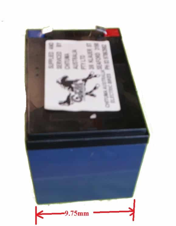 SLA BATTERY 12VOLT 12AH FOR ELECTRIC BICYCLE & ELECTRIC SCOOTER-768