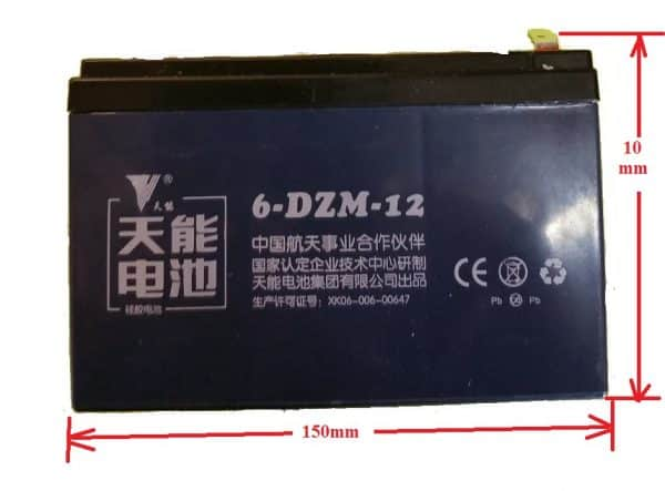 SLA BATTERY 12VOLT 12AH FOR ELECTRIC BICYCLE & ELECTRIC SCOOTER-767