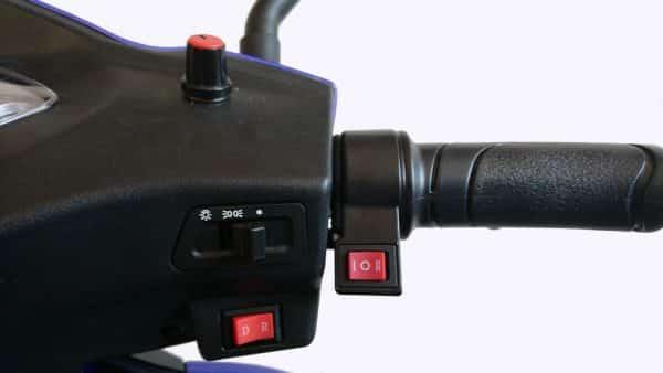 Kruze WANDERER Mobility Scooter - Blue-1008