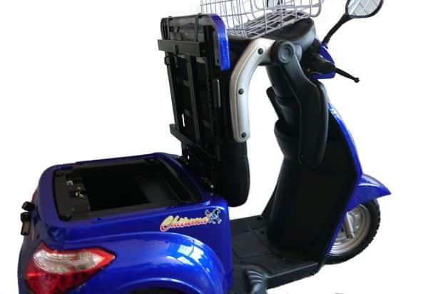 Kruze WANDERER Mobility Scooter - Blue-1007