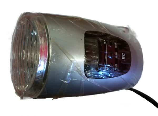 Head Lamp 36V with Battery Indicator, Horn and Ignition Key-1050