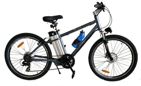 Ex demo RANGER series IV MTB USED ELECTRIC BICYCLE GREY-1348