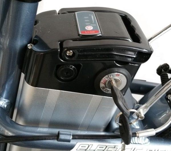 Ex demo RANGER series IV MTB USED ELECTRIC BICYCLE GREY-1350