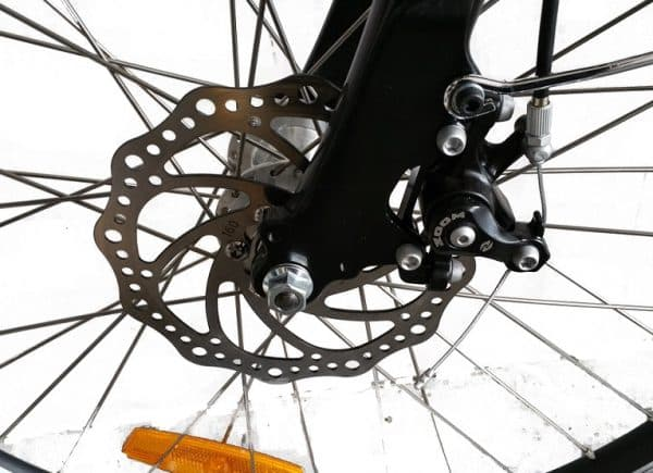 Ex demo RANGER series IV MTB USED ELECTRIC BICYCLE GREY-1354
