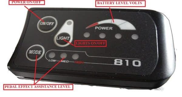 Ex demo RANGER series IV MTB USED ELECTRIC BICYCLE GREY-1355