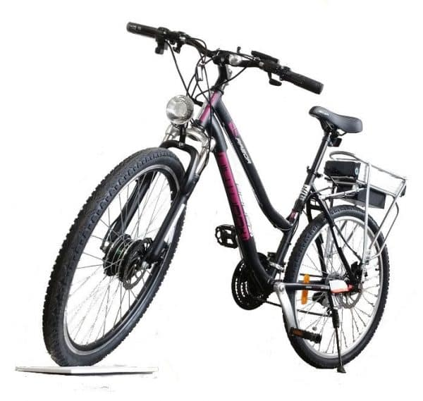 ELECTRIC BICYCLE BAUER RAZOR FITTED WITH 200-250 WATT HUB MOTOR-0