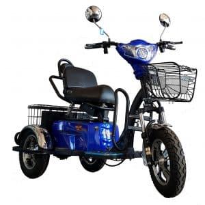 Kruze TREKKER Mobility Scooter - Blue-0