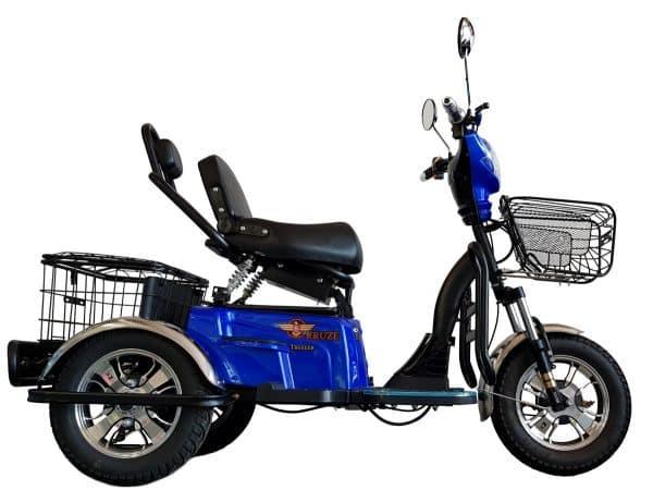 Kruze TREKKER Mobility Scooter - Blue-1729