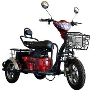 Kruze TREKKER Mobility Scooter - Red-0