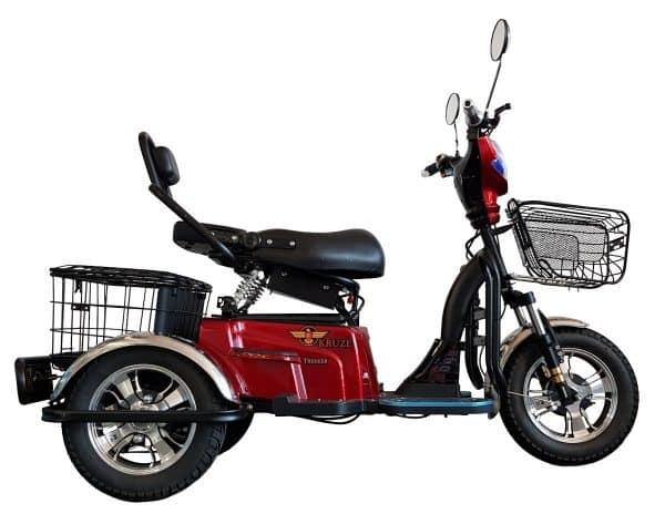 Kruze TREKKER Mobility Scooter - Red-1731