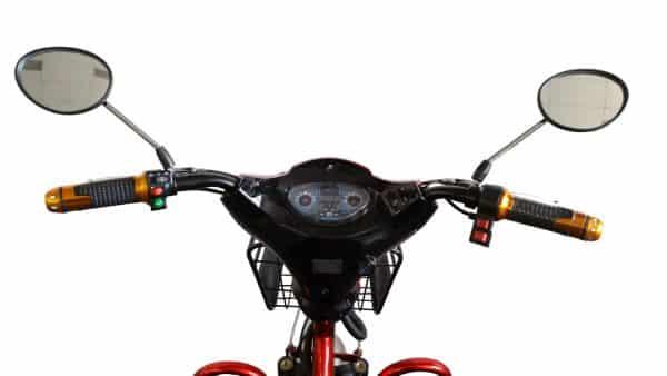 Kruze TREKKER Mobility Scooter - Red-1273