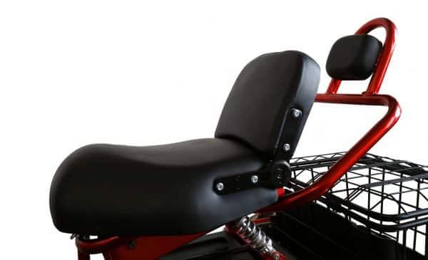 Kruze TREKKER Mobility Scooter - Red-1274