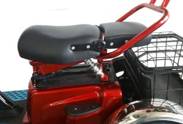 Kruze TREKKER Mobility Scooter - Red-1271