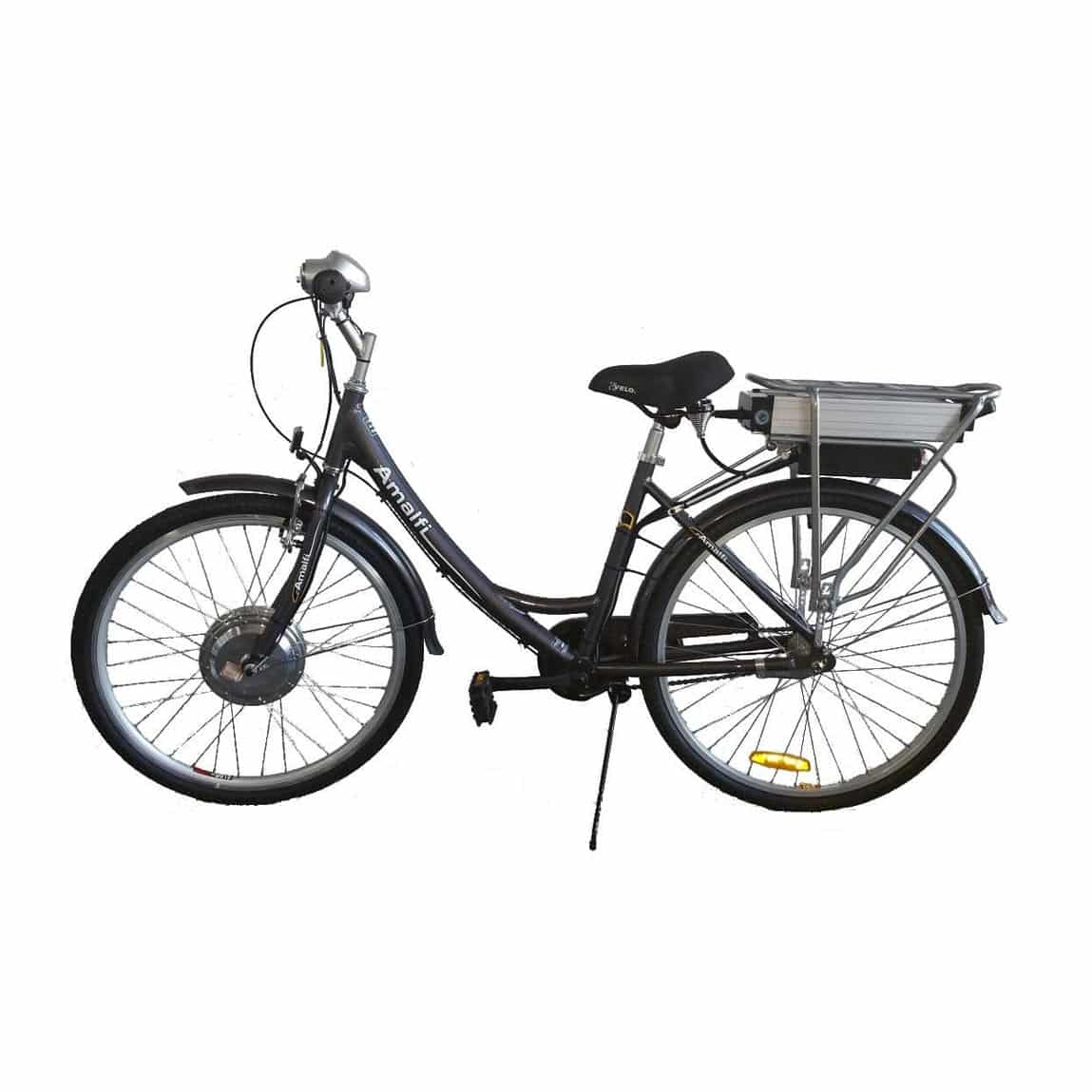 amalfi electric bicycle fitted with 200