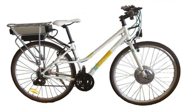"""Del Sol Campus 17"""" Custom Electric Bicycle-0"""