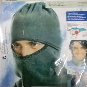 BALACLAVA THERMO FLEECE BLACK-0