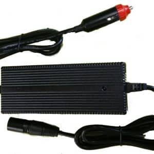 Battery Charger 12v input to 36 volt Lithiumn travel charger -0