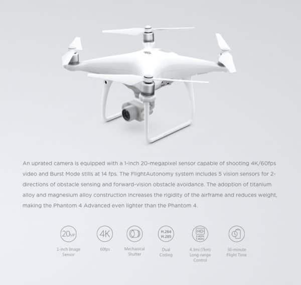 DJI Phantom 4 Advanced - CAMERA DRONE -1481