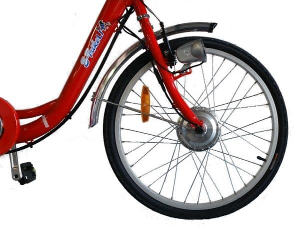 E-TRIKE LI 24/20 ADULT ELECTRIC TRICYCLE ELECTRIC 3 WHEELED BIKE RED-1612