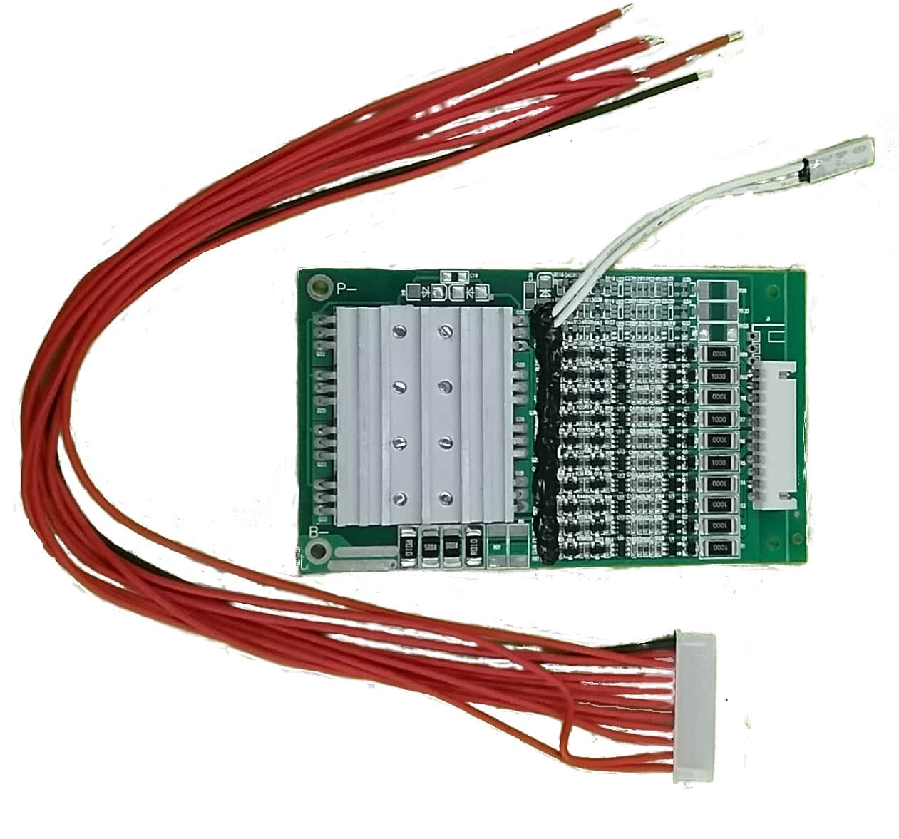 Battery Management System 10s 36v 20amp Bms Pcb Lws 13s15a 051 Overdischarge Cut Off Circuit Electronics Design
