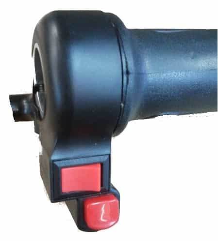 ELECTRIC BICYCLE & ELECTRIC SCOOTER TWIST GRIP STYLE THROTTLE HANDLE WITH TWIN SWITCHES-1650