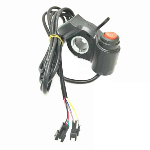 THUMB THROTTLE HANDLE SUIT ELECTRIC BICYCLE & ELECTRIC SCOOTER WITH12 TO 80V Li DISPLAY & 3 POSITION SWITCH-0