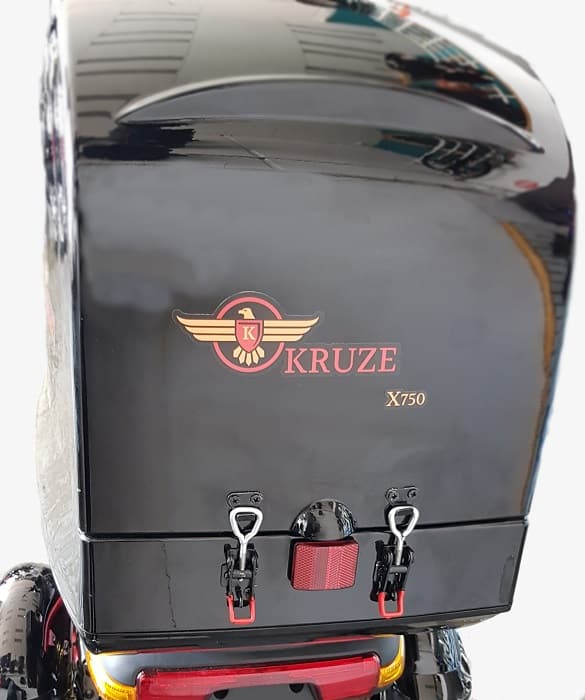 Kruze X750 Mobility Scooter - Red-1720