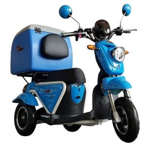 Kruze X750 Mobility Scooter - Blue-0
