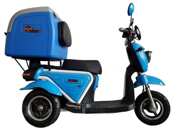 Kruze X750 Mobility Scooter - Blue-1717