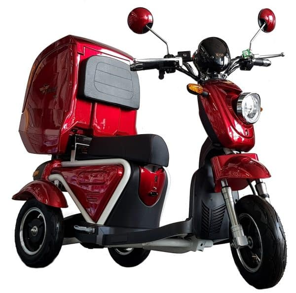 Kruze X750 Mobility Scooter - Red-0