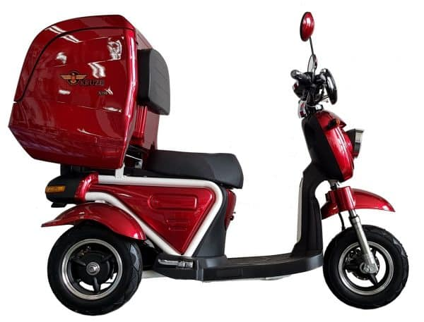 Kruze X750 Mobility Scooter - Red-1721