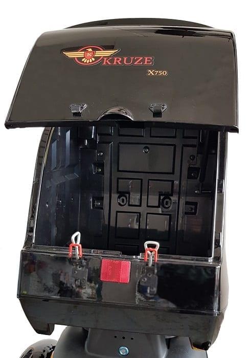 Kruze X750 Mobility Scooter - Black-1726