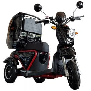 Kruze X750 Mobility Scooter - Black-0