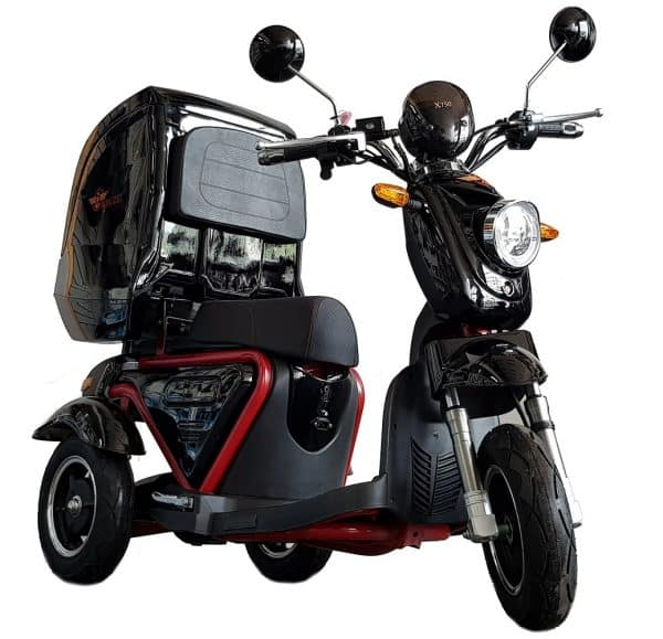 Kruze X750 Mobility Scooter - Black-0