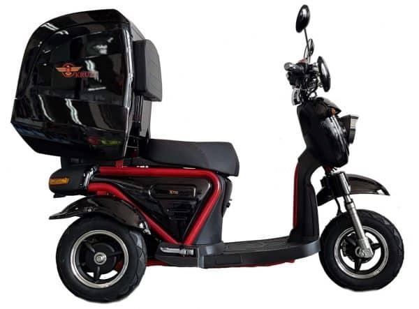 Kruze X750 Mobility Scooter - Black-1728