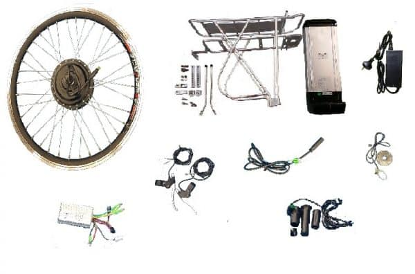 electric bicycle front wheel conversion kit 20in 36v 250watt