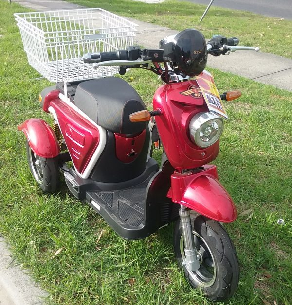 Kruze X750 Mobility Scooter - Red